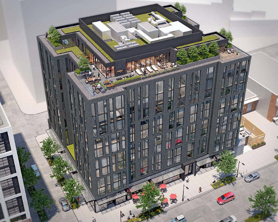 Design for 134-Unit Union Market Building Goes Darker and More Modern: Figure 1