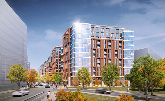 Residences in the Bridge: A Few Design Changes For 700-Unit Poplar Point Development: Figure 1
