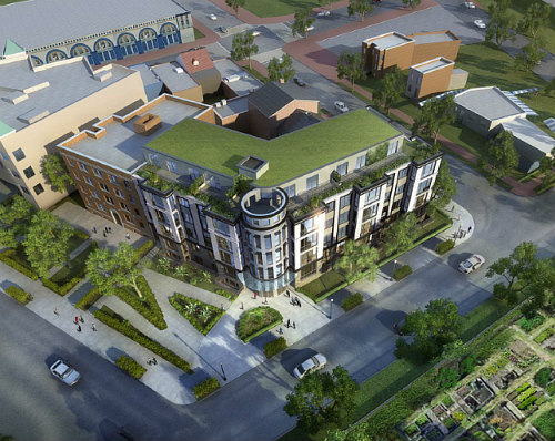 45-Unit Barracks Row Development Gets Thumbs Up From HPRB: Figure 1