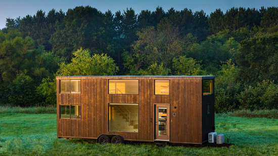 Tiny Home on Wheels With Occupancy For 8: Figure 1