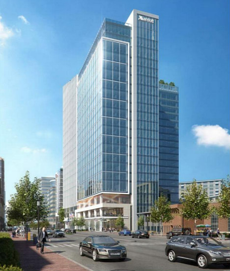 Design and Timeline Presented for New Marriott Headquarters in Bethesda: Figure 1