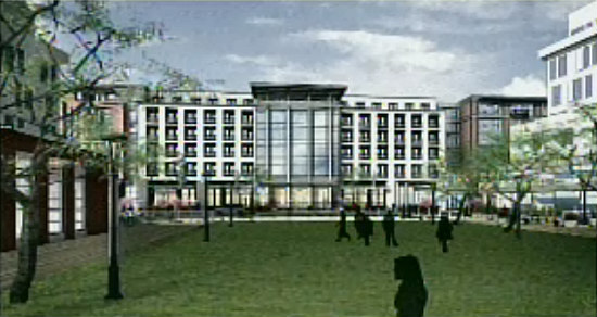 Town Center Buildings at Walter Reed Get Key Approval: Figure 1