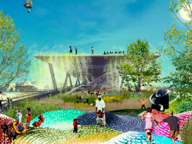 New Images and a Progress Update for DC's 11th Street Bridge Park