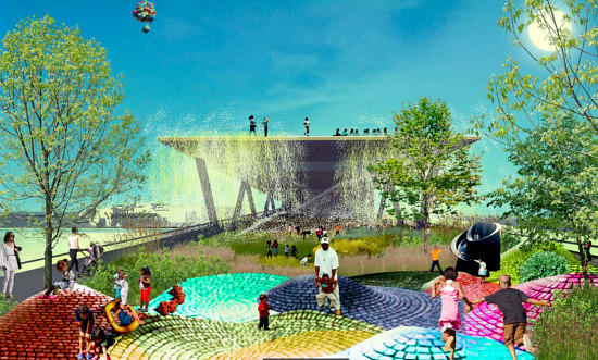 New Images and a Progress Update for DC's 11th Street Bridge Park: Figure 11