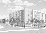 112 Apartments and 19 Townhouses Planned for Arlington Boulevard