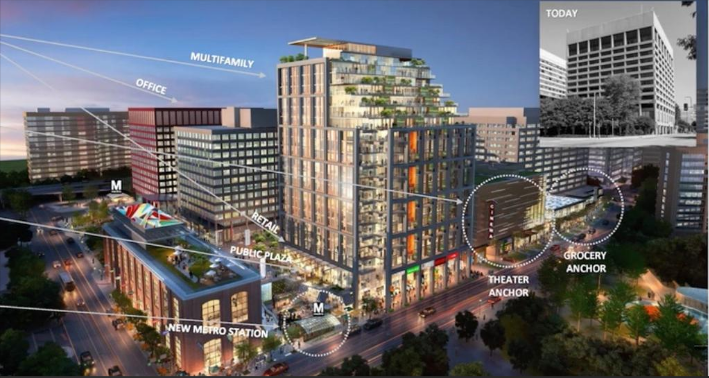 Jbg S New Plan For Mixed Use Complex In Crystal City