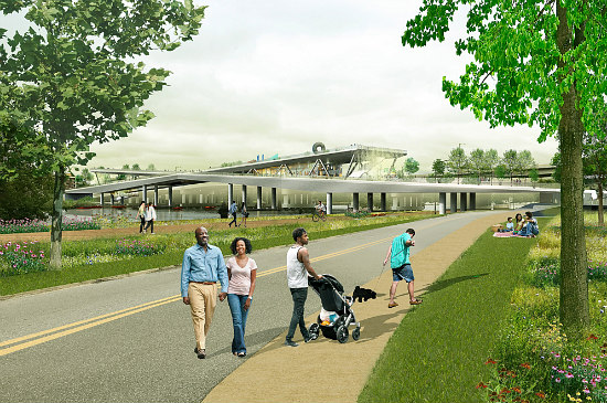 New Images and a Progress Update for DC's 11th Street Bridge Park: Figure 5