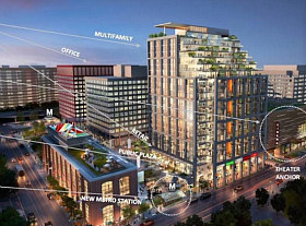 JBG's New Plan for Mixed-Use Complex in Crystal City Includes 650 Apartments