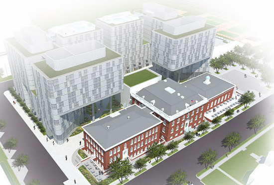No Restaurant, But Possibly Condos: The Latest Plans for DC's Randall School: Figure 4