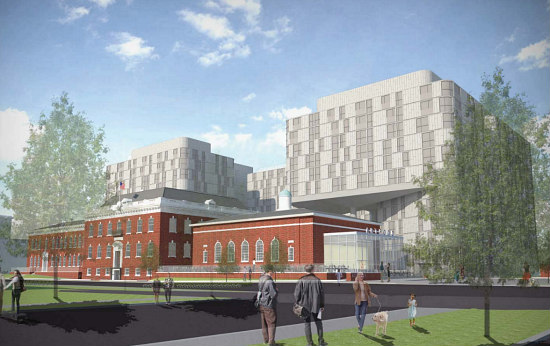 No Restaurant, But Possibly Condos: The Latest Plans for DC's Randall School: Figure 2