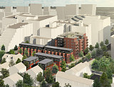59 Condos, 26 Townhomes Planned for Church Site in Ballston