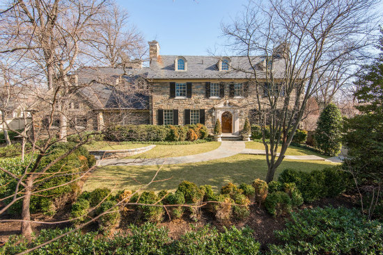 $18 Million Wesley Heights Home Becomes DCu0027s Second Most Expensive House  For Sale: Figure 1