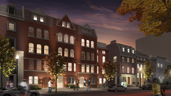 New Luxury Condominiums Now Selling in Dupont Circle at 1745N: Figure 1