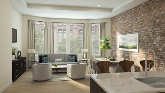 New Luxury Condominiums Now Selling in Dupont Circle at 1745N: Figure 2