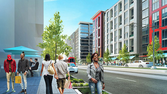 2,100 Units, 200,000 Square Feet of Commercial Space: The Vision For East of H Street: Figure 4