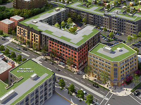 "183-Unit ""Town Center"" Proposed in Deanwood"