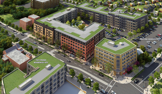 "183-Unit ""Town Center"" Proposed in Deanwood: Figure 1"