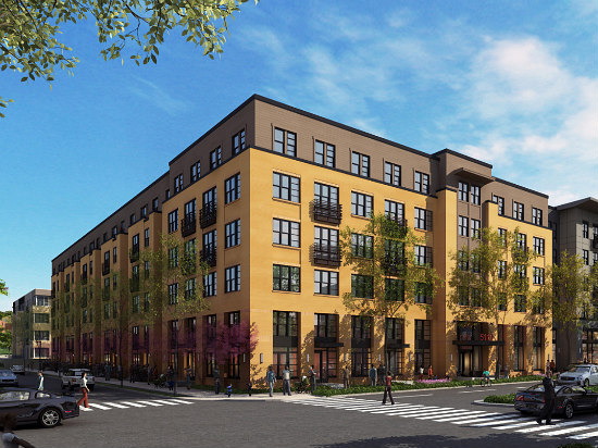 "183-Unit ""Town Center"" Proposed in Deanwood: Figure 2"