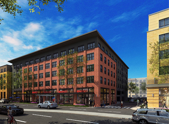 "183-Unit ""Town Center"" Proposed in Deanwood: Figure 3"
