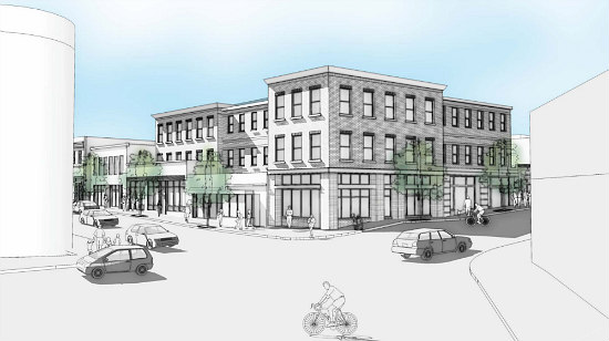 Restaurant, Retail and Office Planned for Major Anacostia Intersection: Figure 1