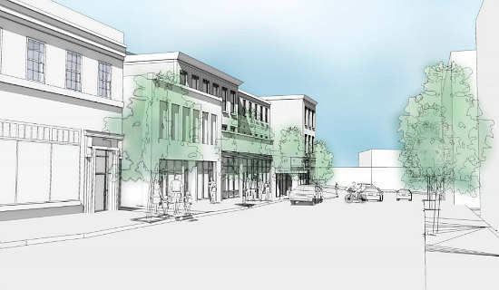 Restaurant, Retail and Office Planned for Major Anacostia Intersection: Figure 2