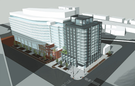 No Room at the Inn for Gas Station: A New Design for Douglas Development's  6th and K Hotel: Figure 4