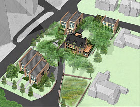Developer Plans Six New Houses at Site of Polish Ambassador's Residence in Forest Hills