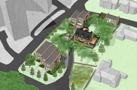 Developer Plans Six New Houses at Site of Polish Ambassador\'s ...