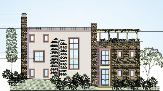 Developer Plans Six New Houses at Site of Polish Ambassador's Residence in Forest Hills: Figure 3