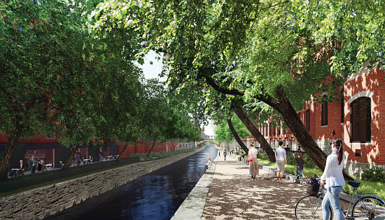 DC's Most High Line-Like of High Line Spin-offs -- Transforming the Georgetown Canal: Figure 1