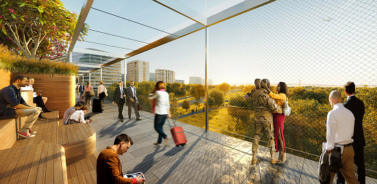 Crystal City Wants a High Line Bridge Connection to National Airport: Figure 3