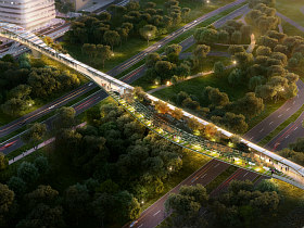 Crystal City Wants a High Line Bridge Connection to National Airport