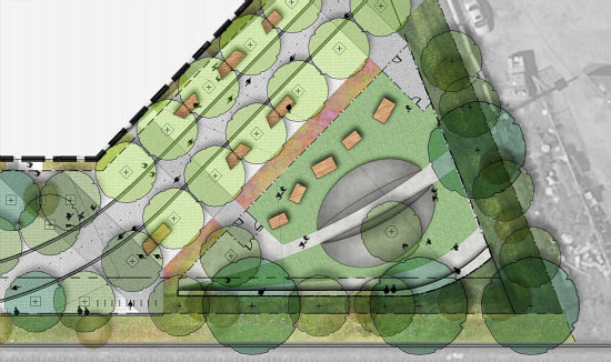Amphitheater, Food Kiosks, a Dog Run: The Details of the New Eckington Parks: Figure 5