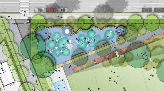 Amphitheater, Food Kiosks, a Dog Run: The Details of the New Eckington Parks: Figure 4