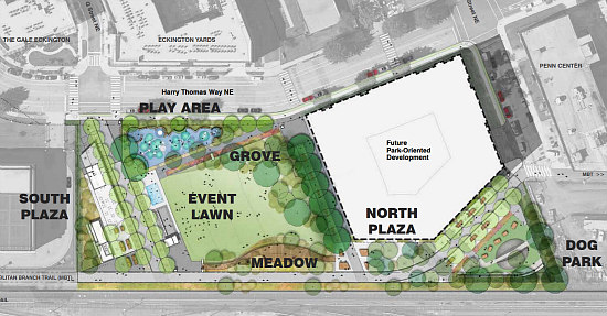 Amphitheater, Food Kiosks, a Dog Run: The Details of the New