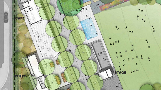 Amphitheater, Food Kiosks, a Dog Run: The Details of the New Eckington Parks: Figure 7