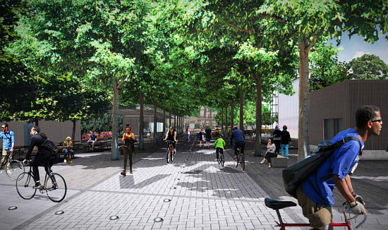 Amphitheater, Food Kiosks, a Dog Run: The Details of the New Eckington Parks: Figure 3