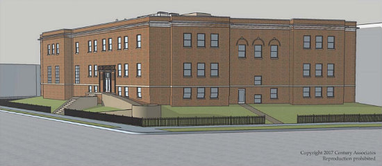 Senior Cohousing or Family-Sized Units -- The Plans to Redevelop the Hill East Boys and Girls Club: Figure 1