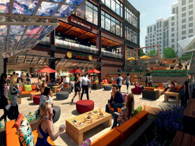 Massive Food Hall Coming to Ballston Mall Development