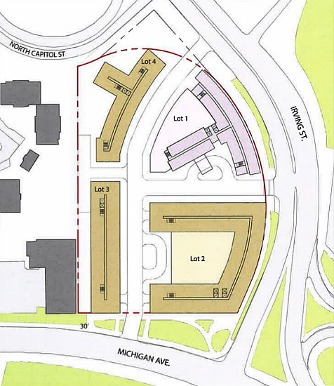 A Second Try for a Massive Mixed-Use Development off the Irving Street Expressway: Figure 1