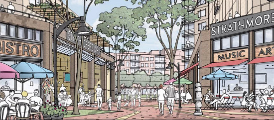 Up to 1,600 Units and Space for the Arts: Strathmore Square to Move Forward: Figure 1