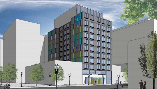 A Mini Hotel District is On the Boards for Mount Vernon Triangle: Figure 2
