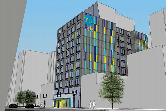 A Mini Hotel District is On the Boards for Mount Vernon Triangle: Figure 1
