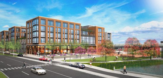 440 Apartments and a Village Green Slated for College Park Metro: Figure 1