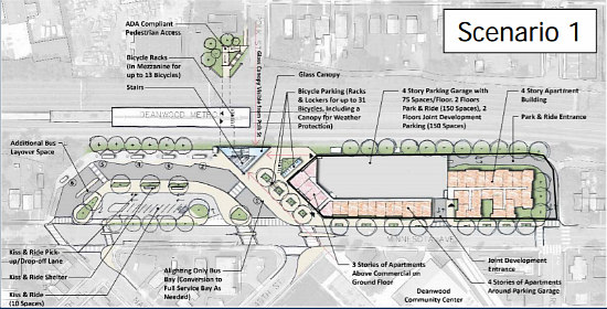 Metro Approves Plan to Replace Deanwood Metro Parking Lot with Mixed-Use Development: Figure 2