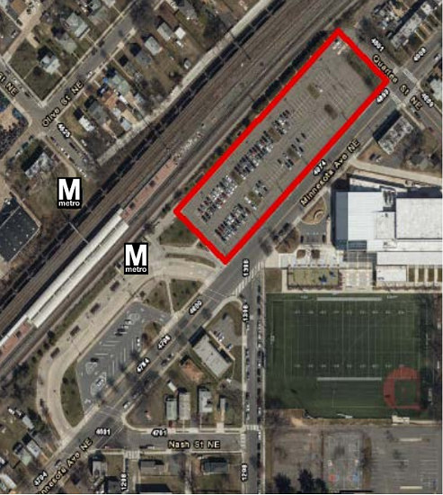 Metro Approves Plan to Replace Deanwood Metro Parking Lot with Mixed-Use Development: Figure 1