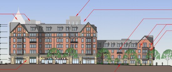 A New Look and Less Parking for Final Monroe Street Market Building: Figure 4