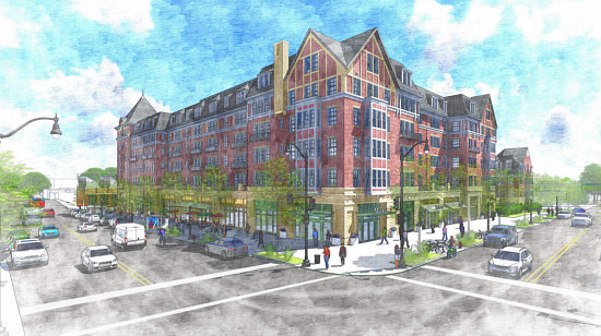A New Look and Less Parking for Final Monroe Street Market Building: Figure 2
