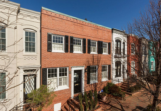 Where JFK Met Jackie: A Georgetown House Hits the Market: Figure 1