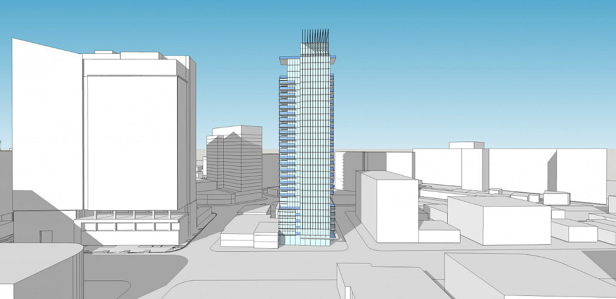 A Few New Looks for Bethesda's Tallest Residential Building: Figure 3